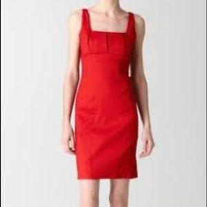 NWT Calvin Klein Red Satin Dress Sz 10